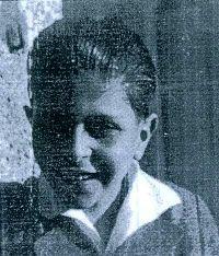 Milivoj Berger kao dječak