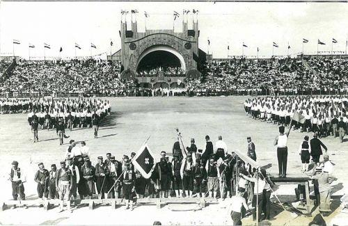 Slet u Beogradu 1930 Borci iz Hercegovine i iz Crne Gore