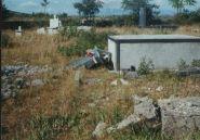Porušeno groblje u Prebilovcima -Porušeno groblje u Prebilovcima
