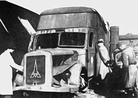 Ovakav kamion - gasna komora korišćen je i za ubijanje Jevreja zatočenih na Starom sajmištu