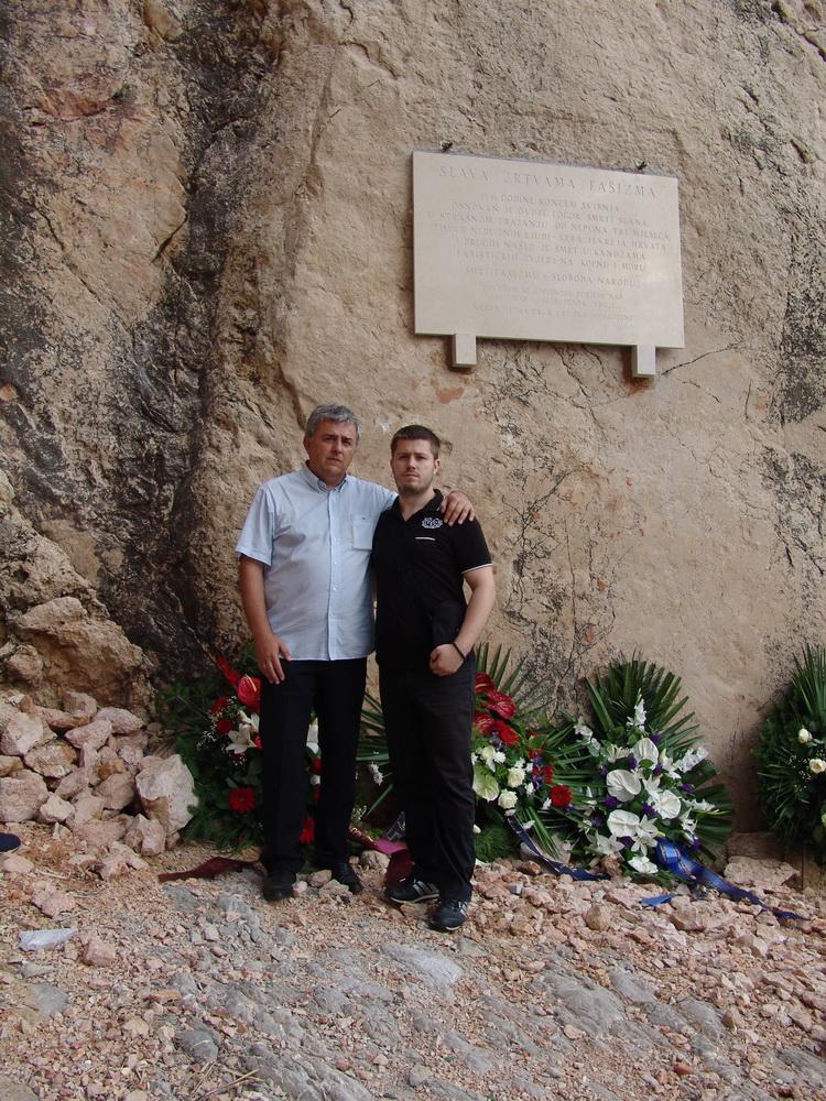 26.6.2010. - Jadovno - Slana - Dušan i Luka Bastašić