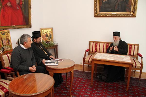 15 10 2010. Prijem delegacije udruženja Jadovno 1941. kod Njegove svetosti patrijarha srpskog Irineja