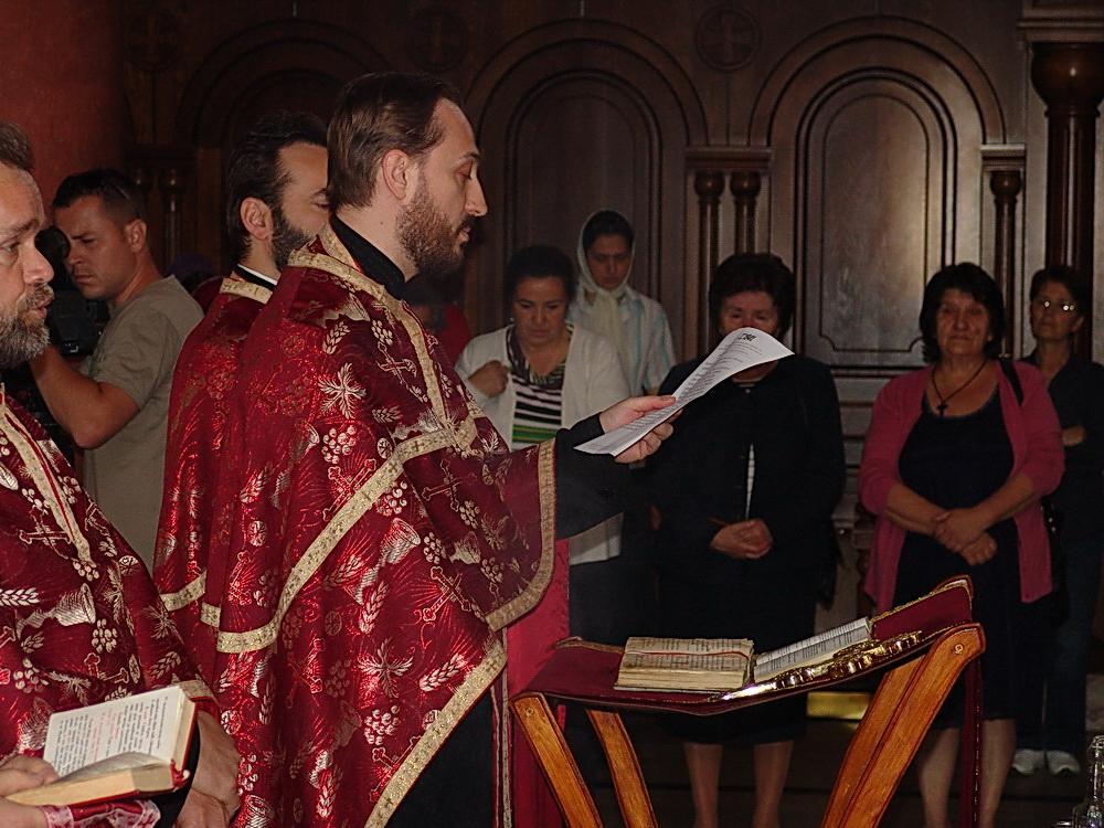 Parastos Jadovinskim mučenicima u Crkvi Svete Trojice u Banjoj Luci.
