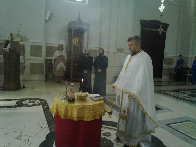 Parastos u Sabornom Hramu u Trebinju.