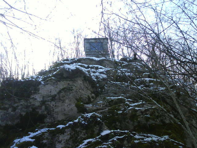 "Spomenik partizanskom bataljonu ""Matija Gubec"" pod Mlakvenom gredom (1963)"