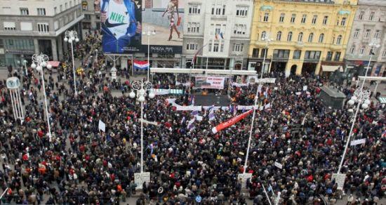 Zagreb protesti