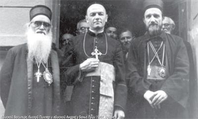 Biskup banjalučki Alfred Pihler i Srbi