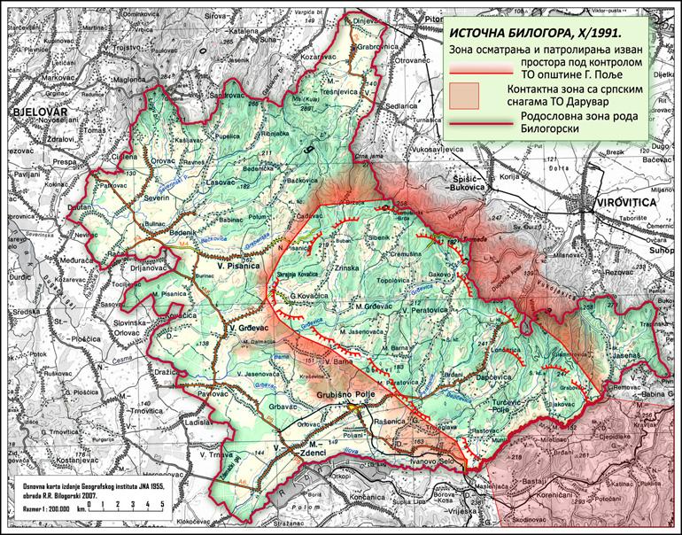 Grubišnopoljska kronika 1990. – 1991. или о томе како Ивица и Перица конструишу хрватску историjу