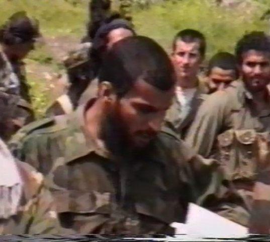 Muatez Bilah - komandant odreda El mudžahedin