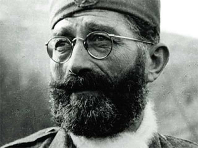 Komandant Jugoslovenske vojske u otadžbini general Dragoljub Mihailović