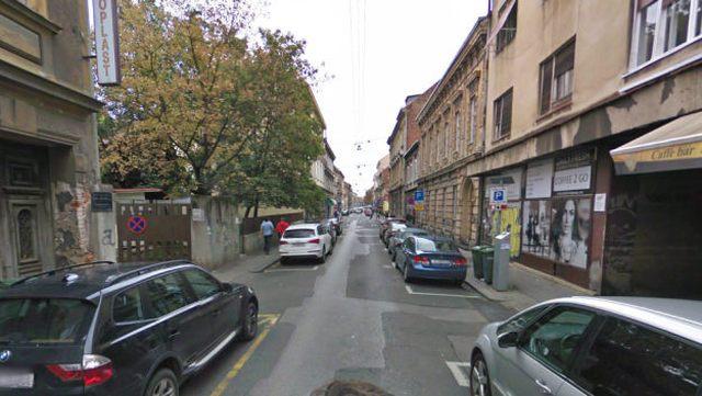 Preradovićeva ulica u Zagrebu