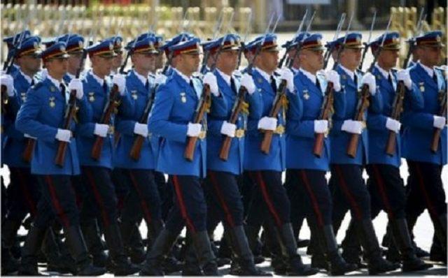 Srpski gardisti na paradi u Pekingu