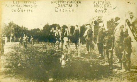 Masovne egzekucije Srba: Mačva 1914. Godine