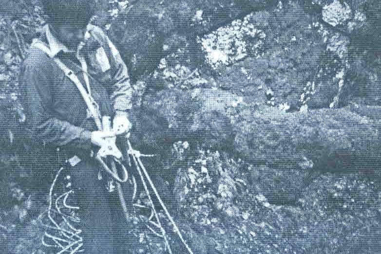 MIRO KURTOVIĆ nad jamom Ravni dolac