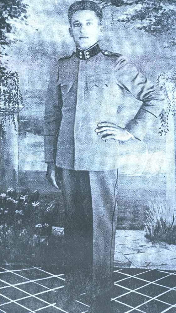 Vinko Tomaš kao hrvatski oružnik 1941.