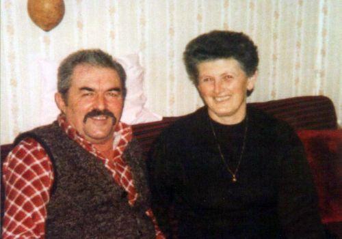 Milan Cvetojević sa suprugom Mirom