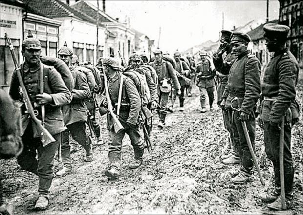 Frankova Peta armija ulazi u Beograd 2. decembra 1914.