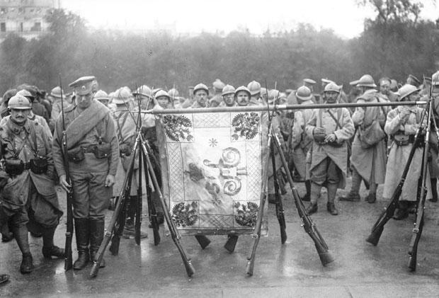 Ruski vojnici na Solunskom frontu