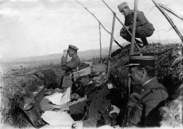Воjвода Живоjин Мишић током Првог светског рата.