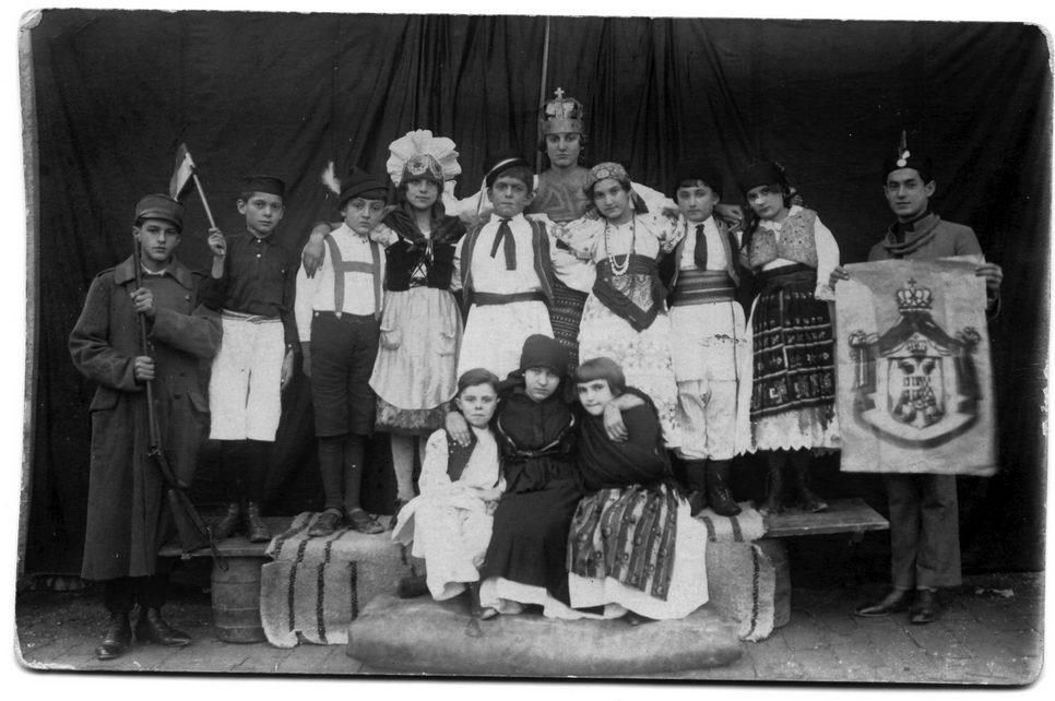 Pozorišna predstava povodom ujedinjenja Kraljevine SHS, 1. decembra 1928.