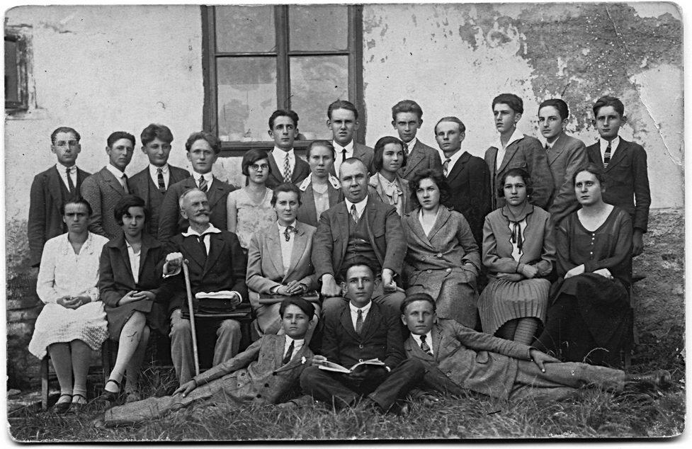 Građanska škola u Grubišnom Polju, IV razred, školske 1928/29. godine