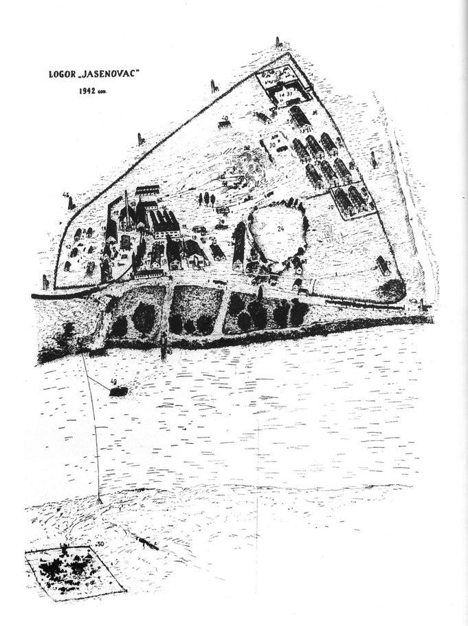 Plan logora Jasenovac III iz 1942. godine