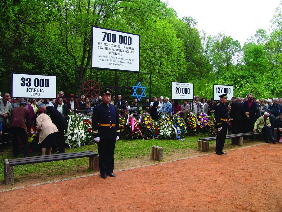 Obilježavanje godišnjice proboja logoraša, Gradina 26. april 2009.
