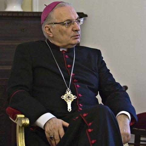 Nadbiskup Orlando Antonini, apostolski nuncije (Foto D. Jevremović)