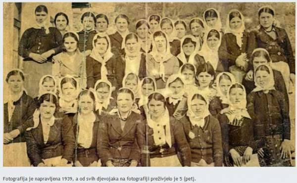 Žene iz sela Prebilovci