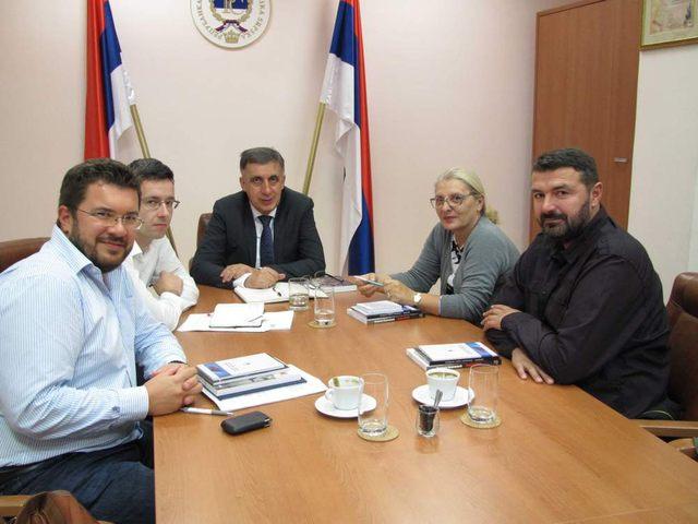 Delegacija OML u poseti Predstavništvu Republike Srpske u Beogradu