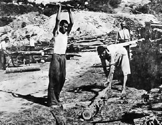 Težak fizički rad brzo je lomio i najsnažnije zatočenike