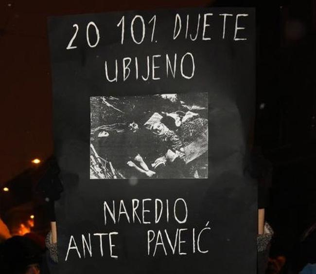 <span>Preko 20 000 nevine srpske, jevrejske i romske djece, ubijeno je od strane ustaša pod komandom Ante Pavelića</span>