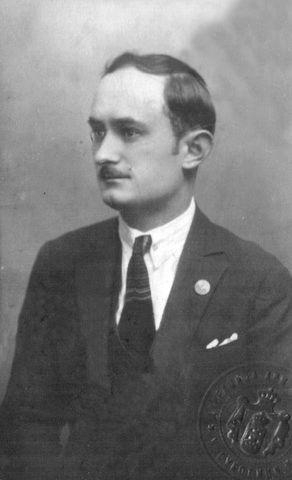 Georgije Đorđe Živanov dok je bio bogoslov u Sremskim Karlovcim