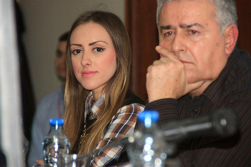 Kristina Mustafić i Dušan J. Bastašić