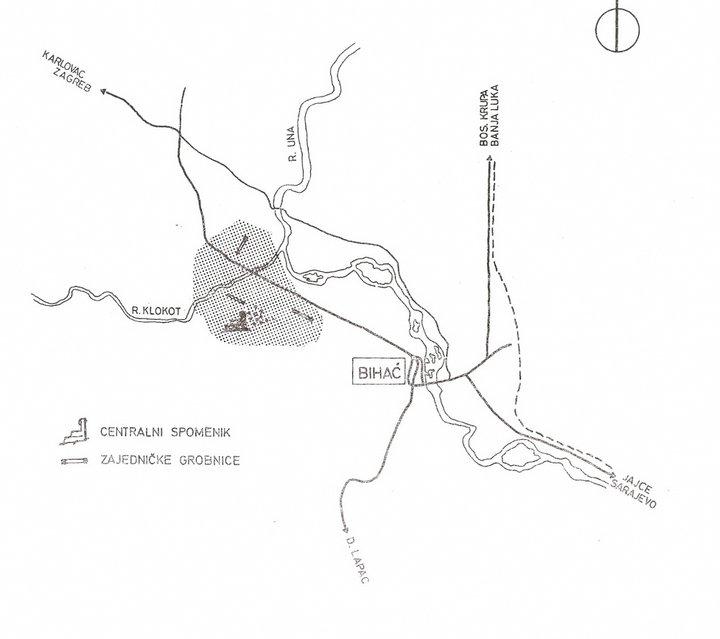 Garavice mapa