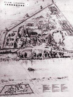 Jasenovac mapa