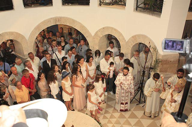 Prebilovačka deca krštavaju se i sada i ubuduće u Hramu Vaskresenja