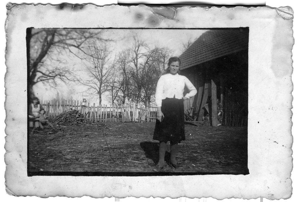 Bastašića ljesa (drvena ograda u dnu dvorišta), 1942. godina