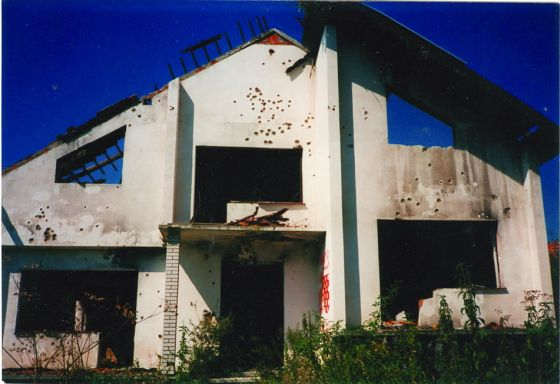 Minirana kuća u Malom Grđevcu, 1991. godina