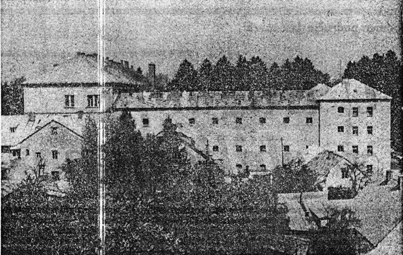 Концентрациони логор Госпић - зграда Суда