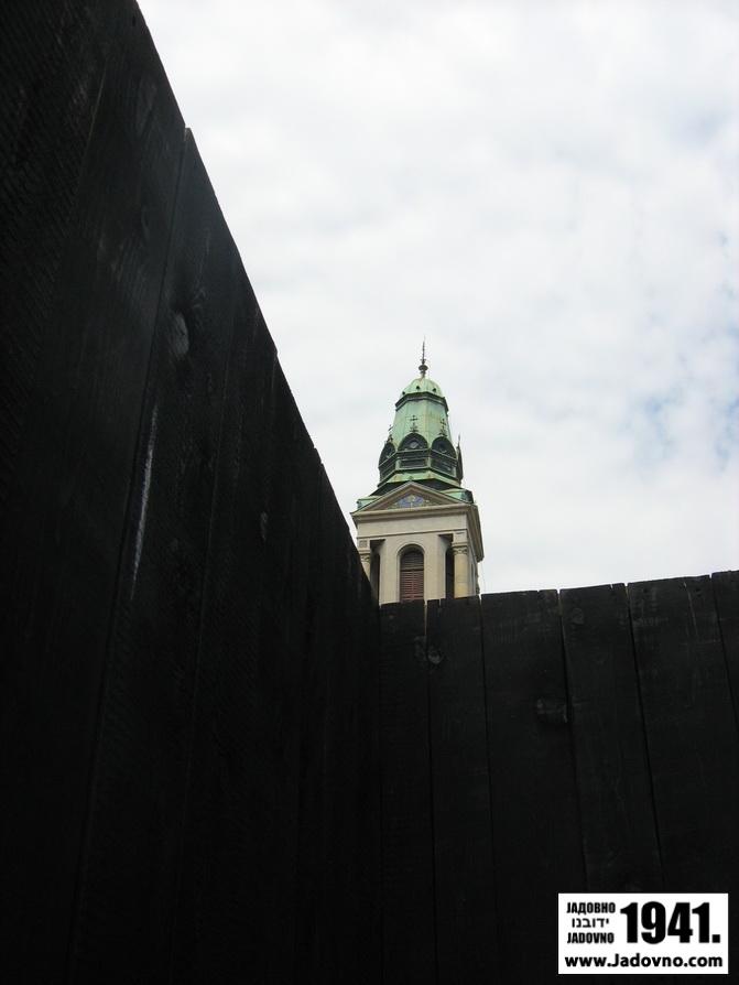 Paviljon o Jasenovcu na Cvjetnom trgu u Zagrebu - Paviljon o Jasenovcu na Cvjetnom trgu u zagrebu