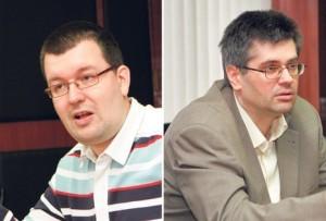 Čedomir Antić i Aleksandar Čotrić