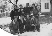 Na slici: Pripadnici JVUO Kosjerićke brigade.