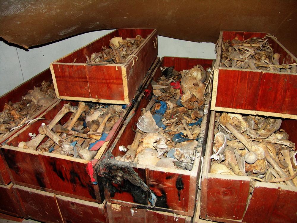 Mošti Novomučenika livanjskih ekshumirane iz jama i masovnih grobnica