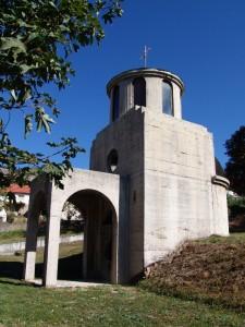 Kapela - spomen kosturnica Svete Velikomucenice Marine – Ognjene Marije.jpg