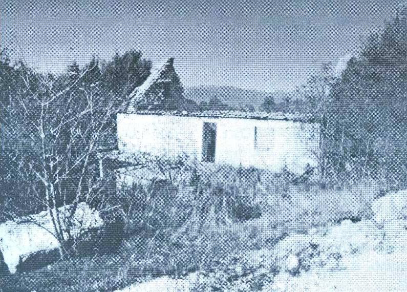 Zidina stare kule Vlada Šunjke u Čelebiću