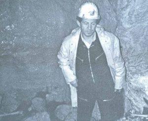 Autor na dnu jame Ravni dolac 8.juna 1991. godine