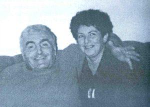 Jedina sačuvana zajednička slika: DEJAN LAGANIN sa suprugom Milenom iz sretnih dana prije izbijanja ratnih sukoba devedesetih godina