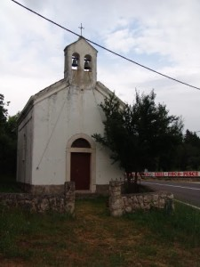 Crkva u Tribanj Šibuljini mjesto stradnja