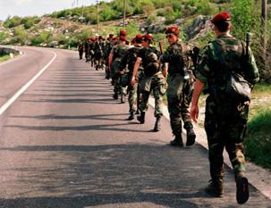 Hrvatska vojska u napadu na Mrkonjić Grad